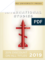 International Studies 2019 (Stanford University Press)
