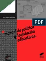 Manual de política y legislación educativas - J. M. Fernández Soria.pdf