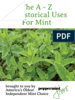 A-To-Z List of Historical Uses for Mint E-book