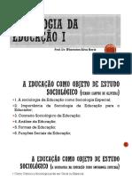 Educacao Como Objeto Sociologico_surgimento Dos Colegios Modernos