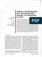 Dynamics of Flexible Manipulator Arms Alternative Derivation, Verification, and Charasteristics for Control.pdf