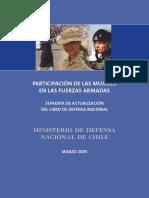 participacion de las mujeres en las fuerzas armadas
