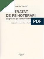 Tratat de Psihoterapii Cognitive Si Comportamentale Ed. 3
