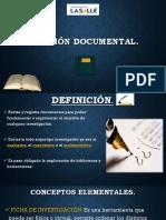 El análisis Documental