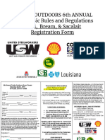 6th annual bass rules regs 2019