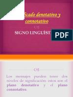 Denotacin y Connotacion