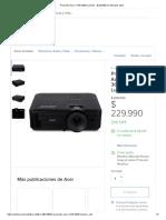 Cotizacion Proyector Acer