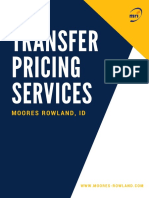 Transfer Pricing Services