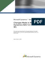 Changes in NAV 5 0 SP1