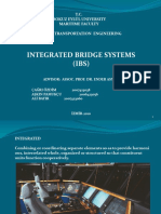 INTEGRATED BRIDGE SYSTEMS
