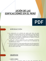 Edificaciones en El PERÚ