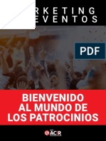eBook Marketing de Eventos Bienvenido Al Mundo de Los Patrocinios