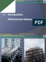 1.1 Introduccion. Definiciones Basicas