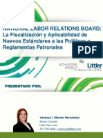 Material Educativo National Labor Relations Board Abril de 2016(