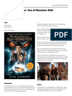 padlet-percy jackson book report