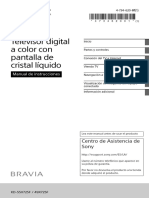 Manual de Usuario Kd-55x725f