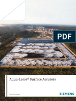 Siemens Aqua-Lator Aerator Catalog