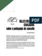 Artigo - Deleuze Educador