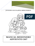 MANUAL MISIÓN DE ADVIENTO  2017