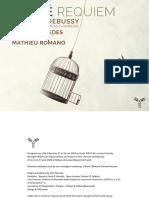 Booklet, Requiem, Fauré