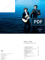 Booklet, delta y mar