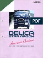 Delica Accessory Catalogue