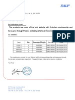 SKF Certificate of Origin (1)