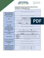 formulario de becas