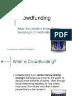 Crowdfunding Presentation Investors