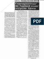Peoples Journal, Mar. 5, 2019, Mr. Transpormer Tugade hailed over motorcycle taxis.pdf