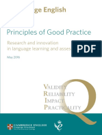 22695 Principles of Good Practice