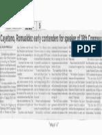 Philippine Star, Mar. 5, 2019, Cayetano, Romualdez early contenders for spraker of 18th Congress.pdf