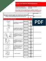 Check List de Fatores de Riscos Ergonômicos