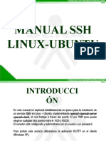 Manual Ssh Linux Ubuntu La Red 38110