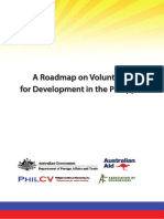 Roadmap on Volunteering for Development in the Philippines