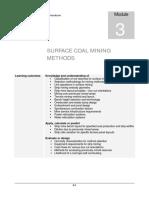 3. Surface Coal Mining Methods