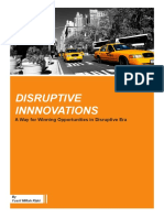 Disruptive Innovations, A Way for Winning Opportunities in Disruptive Era