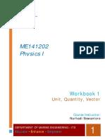 Physics I_Workbook 1