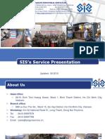 SIS Service Presentation 2016