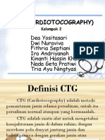 Ctg (Cardiotocography) Ppt Kelompok