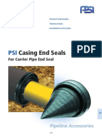 PSI Casing End Seals for Carrier Pipe End Seal