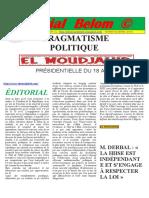 E.MAIL EDITORIAL.BELOM@GMAIL.COM PAGE N° 43-2019 HTTP EDITORIAL-BELOM.BLOGSPOT.COM MARDI 05 03 2019