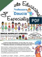 5 Professora Daucia Aee Atendimento Educacioal Especializado