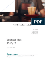 Coffeeville Business Plan