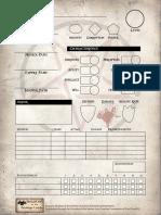 SotDL - Character Sheet