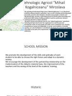 Liceul Tehnologic Agricol Prezentare Ppt