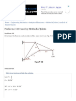 Problem 413 Crane by Method of Joints | Engineering Mechanics Review.pdf