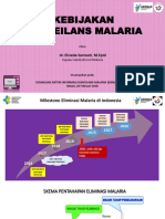 Kebijakan Surveilans Malaria