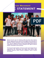 Intersex Asia Statement 2018 English