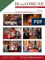 Notizie Dal Comune di Borgomanero del 5 Marzo 2019 - Speciale Lunzon